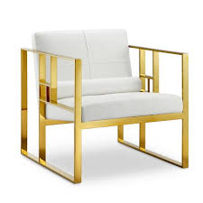 Gold Accent Chair The Westgate Lounge Chair Has A Futuristic Look That Can Bring