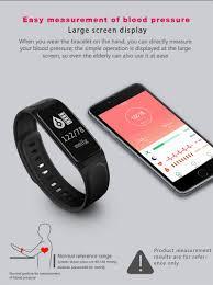kaload c7s smart bracelet rate monitor blood pressure ip 67