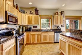How To Clean Oak Kitchen Cabinets by How To Clean Wood Kitchen Cabinets Housing Here