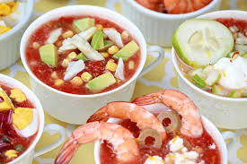 Oatmeal Toppings Bar Classic Gazpacho A Toppings Bar Makes It A Meal U2013or A Party