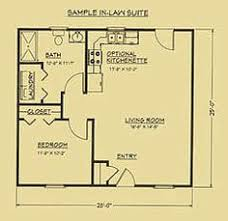 floor plan for mother in law suite houses pinterest tiny