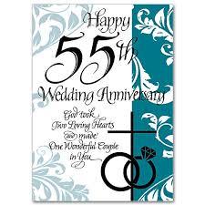 55th wedding anniversary happy 55th wedding anniversary 55th wedding anniversary card