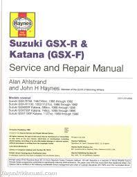 suzuki gsx r 750 gsx r 1100 1985 1992 katana 600 750 1100 1988