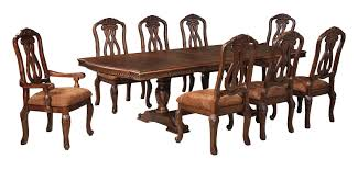 pedestal dining room sets buy ashley furniture north shore rectangular dining room pedestal