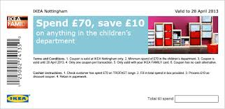 printable vouchers uk spend 70 on anything in children department save 10 using