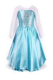 amazon com relibeauty little u0027s princess elsa fancy dress