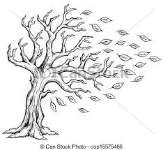 theme tree autumn tree theme image 2 eps10 vector illustration clip art