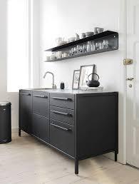 Black Metal Kitchen Cabinets Vipp Kitchen Taarbæk Danmark Kitchen Keepers Pinterest