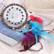 new fashion wind chimes indian style feather pendant dream catcher
