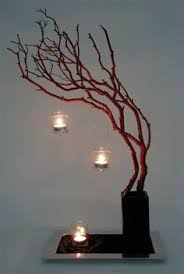 Led Branch Centerpieces by Accessories Decorative Manzanita Tree Branch Wedding Centerpieces