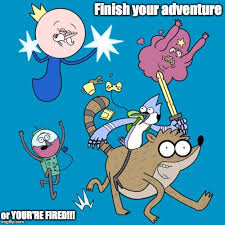 Adventure Time Meme - adventure time imgflip