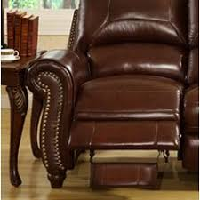 Reclining Armchair Leather Corliving Moor Bonded Leather Contemporary Reclining Armchair