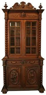 rosewood china cabinet for sale antique french rosewood and oak bevelled glass bookcase display