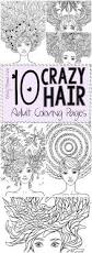printing pages 10 crazy hair coloring pages crazy hair coloring