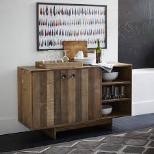 Buffet With Hutch Furniture Emmerson Reclaimed Wood Buffet West Elm