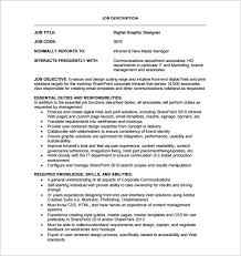 web designer job description the web designer job description