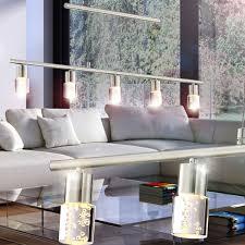 Esszimmerlampe Verstellbar Led Decken Pendel Leuchte Hänge Lampe Luftblasen Beleuchtung Höhen