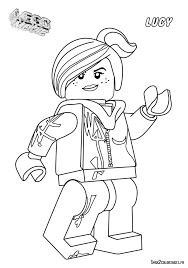 7 images wyldstyle lego movie coloring pages lego movie
