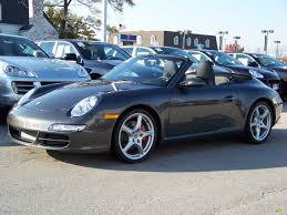 porsche slate grey 2006 slate grey metallic porsche 911 carrera s cabriolet 422000
