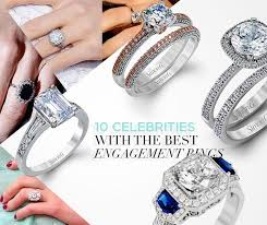 Best Wedding Rings by 10 Celebrities With The Best Engagement Rings Crazyforus