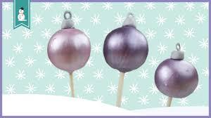 ornament cake pops i how to make easy ornament cake pops i arctic