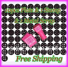 nail art design kit ag328nail art image stamp plates polish