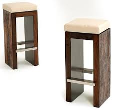 Modern Wood Bar Stool Modern Rustic Bar Stool Contemporary Rustic Bar Stool