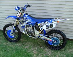 2005 yamaha yz250 coss u0027s bike check vital mx