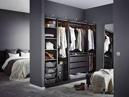 chambre et dressing idee dressing chambre avec salle de bain ouverte sur dressing idees