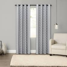 goods for life handkerchief border blackout window curtain