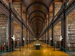 file long room interior trinity college dublin ireland diliff