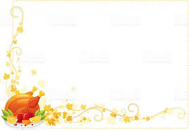 autumn thanksgiving frame with turkey stock vector more images