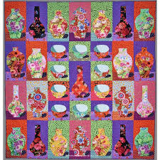 Vases And Bowls The Kaffe Fassett Collective Bowls And Vases Quilt Kit Kaffe