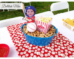 baseball centerpieces baseball centerpiece etsy