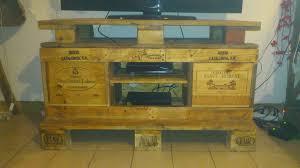 meuble fait en palette construire un meuble tv bois u2013 artzein com