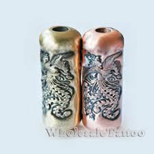 empaistic copper tubes tattoo grip tube phoenix design tattoo