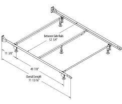 glamorous full size bed frame measurements home full size