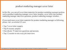 materials manager cover letter assistant marketing manager cover