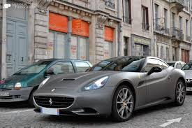 Ferrari California Gray - ferrari california convertible supercars cars cabriolet italia