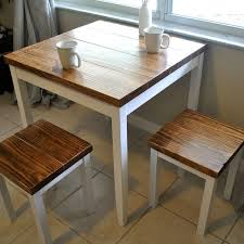 Farmhouse Breakfast Table Or Dining Table Set With Or Without Stools