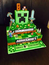 minecraft birthday cake ideas birthday cake ideas cool minecraft birthday cake designs for