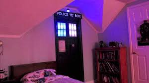 Dr Who Home Decor Tardis Front Door Decor Hello Creative Dr Room Dr Dr Who Bedroom
