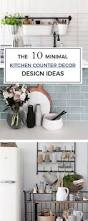 best 25 minimalist kitchen counters ideas on pinterest