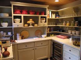kitchen awesome pantry shelving with open shelves and wood rack