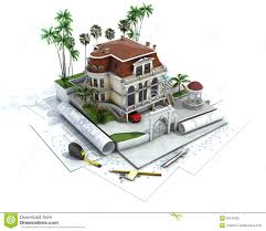 free house designs house design progress architecture visualization royalty free