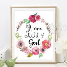 printable islamic quotes i am a child of god printable nursery from butterflywhisper on