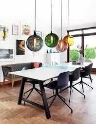 luminaire suspendu table cuisine luminaire suspendu salle a manger avec table cuisine suspension