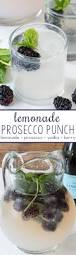 lemonade prosecco punch crazy for crust