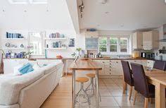 Kitchen Diner Design Ideas Open Plan Kitchen Diner Designs Open Plan L Shaped Kitchen