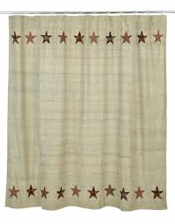 country shower curtains primci primitive bathroom decor
